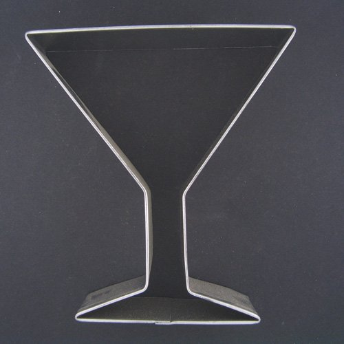 Martini Glass Cookie Cutter (Martini Cookie Cutter compare prices)