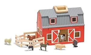 Melissa & Doug Melissa & Doug Fold & Go Mini Kids Play Barn