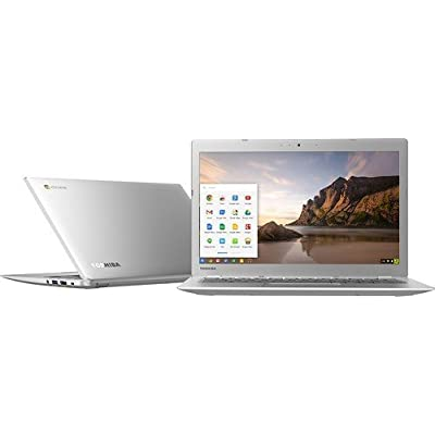 Toshiba CB35-A3120 13.3-Inch Chromebook (Intel Celeron 2955U 1.4 GHz Processor, 2 GB DDR3 RAM, 16 GB SSD, Intel HD Graphics, Chrome OS), Silver