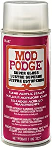 Mod Podge Super High Shine Spray 11 Ounces [Kitchen]