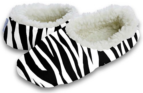 Cheap Snoozies Hot Zebra Footie (B004V3WSWK)