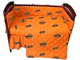 OKLAHOMA State Cowboys 5Pc Baby Crib Set