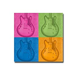 Colorful Guitar Pack by Tiffany Hakimpour Premium Gallery-Wrapped Canvas Giclee Art (Ready-to-Hang)