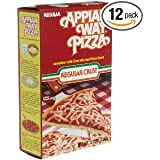 Ind. Appian Way Regular Pizza Mix Crust Mix And Pizza Sauce Boxes 12 OZ (Pack of 24)