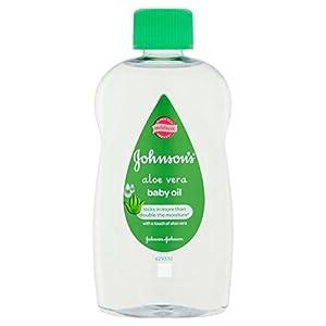 Aceite de bebé de Johnson con Aloe Vera 300ml en BebeHogar.com