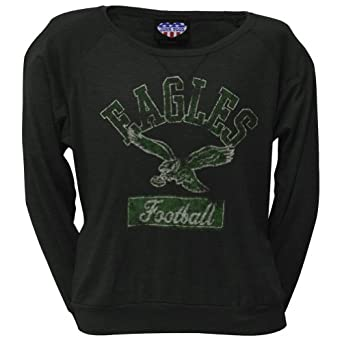 Philadelphia Eagles - Vintage Logo Ladies Long Sleeve by NFL