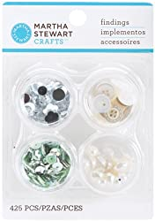 Martha Stewart Crafts Crystal Findings