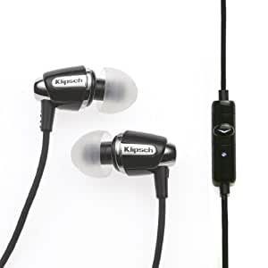 Klipsch Image S4A In-ear Headphones Black for Android (Discontinued by Manufacturer)