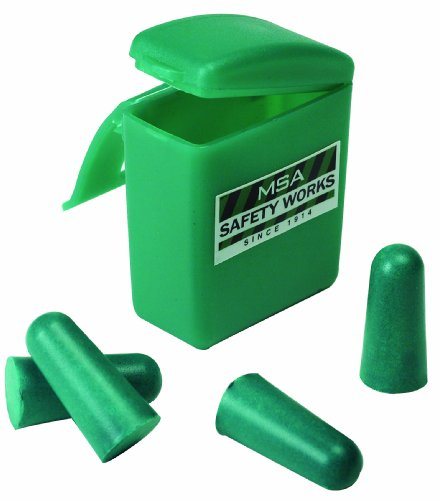 MSA Safety/InCom 818074 2 Pair Foam Ear Plugs