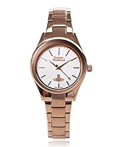 """Vivienne Westwood Women's VV111RS """"Holloway"""" Rose Gold-Tone Stainless Steel Watch"""