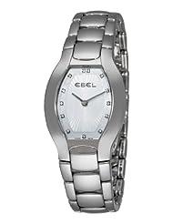 Ebel Women's 9901G31/99970 Beluga Tonneau Mother-Of-Pearl Diamond Dial Watch