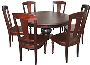 Valentina Furniture Dining Table And 6 Chairs Kitchen