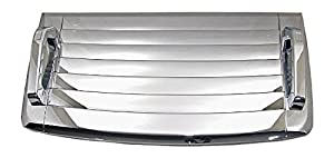 hummer h3 triple chrome hood deck vent cover. Black Bedroom Furniture Sets. Home Design Ideas