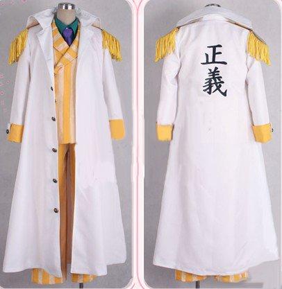 ONE PIECE ワンピース 海軍三大将 黄猿 コスプレ衣装 男性Lサイズ 完全オーダメイドも対応可能