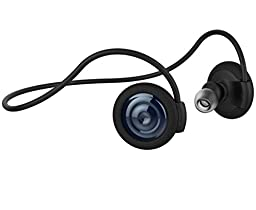 iansean Muset1c Wireless Sports Bluetooth 4.1 Stereo Apt-X Earbuds Handsfree (Navy)