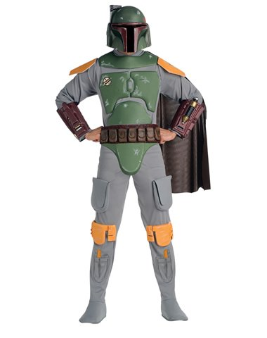 Rubies Costume Co Men's Star Wars Boba Fett Deluxe Costume