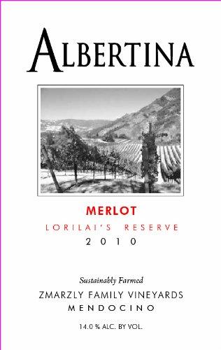 Albertina 2010 Merlot Lorilai'S Reserve