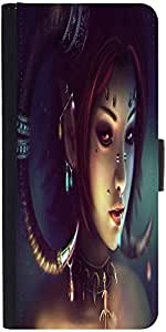 Snoogg Tribal Chicdesigner Protective Flip Case Cover For Lg G3