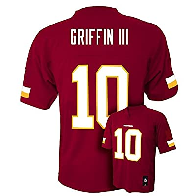 Robert Griffin III RG3 #10 Washington Redskins NFL Kids Sizes 4-7 Mid-tier Jersey