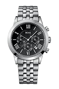 Hugo Boss Gents Stainless Steel Watch with Chronograph