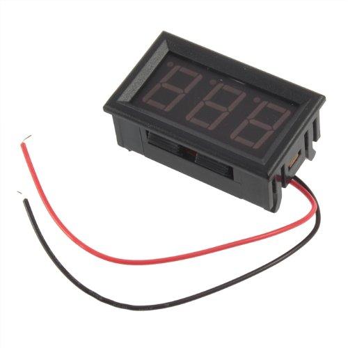 Yks New Mini Digital Voltmeter 4.5-30V Red Led Auto Car Truck Vehicles Motor Voltage Volt Panel Gauge Meter