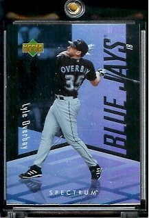 2007 Upper Deck Spectrum #48 Lyle Overby Toronto Blue Jays - Mint Condition - In Screwdown Case !