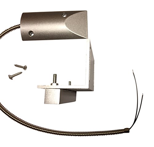1 pc Overhead Door Magnet Contact with NC (Normally Closed) Armored 18' Cable