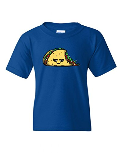 Too Cute To Eat Taco DT Novelty Youth Kids T-Shirt Tee (X-Large, Royal Blue) (Royal Cook Tortilla compare prices)