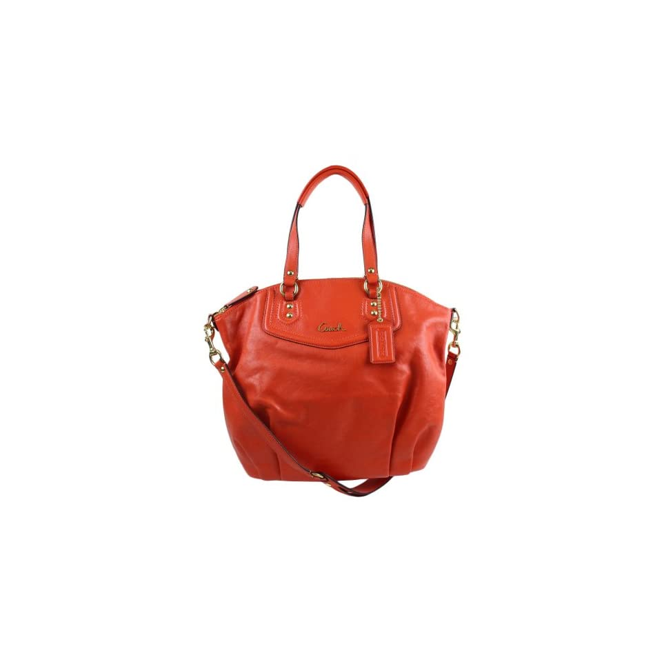 Coach Ashley Leather Satchel Tote Shoulder Handbag