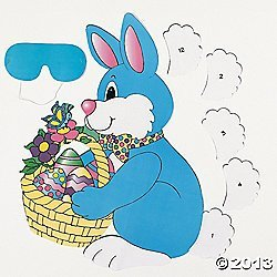 PIN the TAIL on the EASTER BUNNY