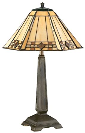 Kenroy Home 33041BRZ Willow Accent Lamp, Bronze