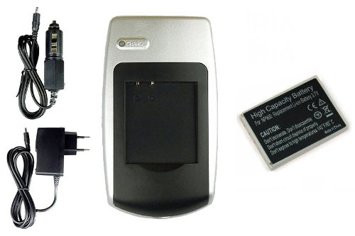 Chargeur + Batterie pour Benq DC C500, E43, E53, E63, E720, E820