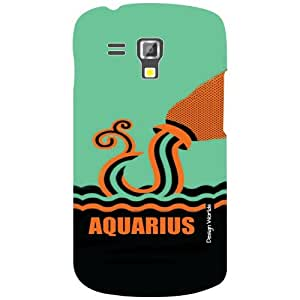 Design Worlds Samsung Galaxy S Duos 7582 Back Cover - Aquarious Designer Case and Covers