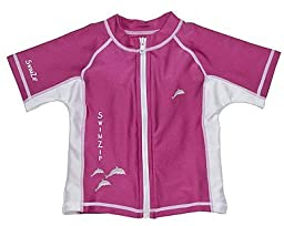 Dolphin Rash Guard UV Protective Swim Shirt by SwimZip Swimwear 4T