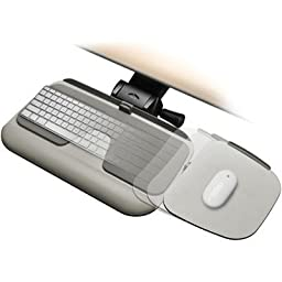 Workrite Glide 2 Adjustable Keyboard System 3111-17 CHARCOAL 17\