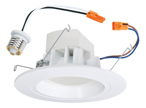 Cooper Lighting Aled3T24 All-Pro Led Retrofit Recessed Downlight Fits 5-Inch And 6-Inch Housings Rated For Wet Location, Equivalent To 65 Watts, White