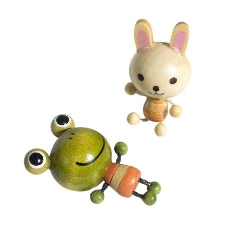 [Rabbit & Frog] - Refrigerator Magnets / Animal Magnets front-481126