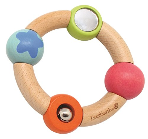 EverEarth Wooden Flexible Grasping Toy EE33587 - 1