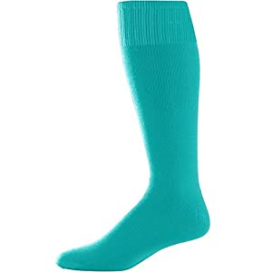 Augusta Sportswear Youth Game Socks Teal One Size