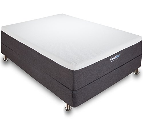 Classic Brands Cool Gel 12 Inch Gel Memory Foam Mattress, King Size