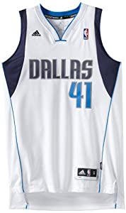 Dirk Nowitzki Swingman Jersey - Dallas Mavericks Jerseys (White) by adidas