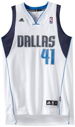 Nba Dallas Mavericks Dirk Nowitzki Swingman Jersey, White, X-Large