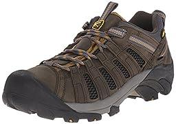 KEEN Men\'s Voyageur Shoe, Raven/Bronze Mist, 12 M US