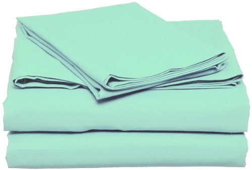 Light Turquoise Twin Xl Sheet Set Extra Long Blue Bedding front-748209