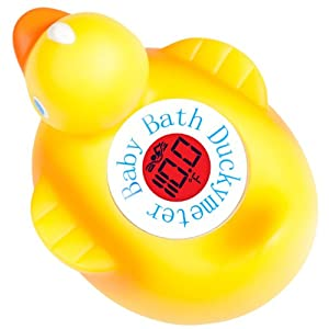 Duckymeter, the Baby Bath Floating Toy and Bath Tub Thermometer