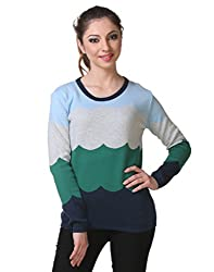 Kalt Women's Cotton Sweater (W103 4XL _Multicolor_XXXX-Large)