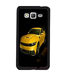 printtech Superfast Car Back Case Cover for Samsung Galaxy Grand Prime G530h
