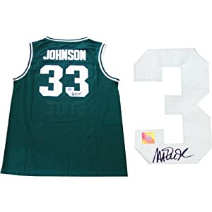 Magic Johnson Signed Jersey - University - Autographed College Jerseys by Sports Memorabilia
