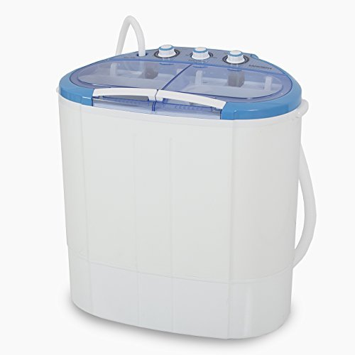 ARKSEN© Portable Mini Washing Machine Compact Laundry, 110V, 7.9LBS (3.6KG), (White)