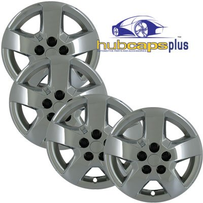 Set of Four 2006, 2007, 2008, 2009, 2010 Chevrolet Malibu, HHR 16 Inch Bolt On Chrome Hubcaps Wheel Covers